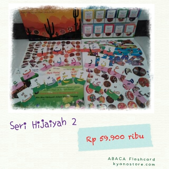 Foto Produk Abaca Flashcard Hijaiyah 2 dari kyanostore