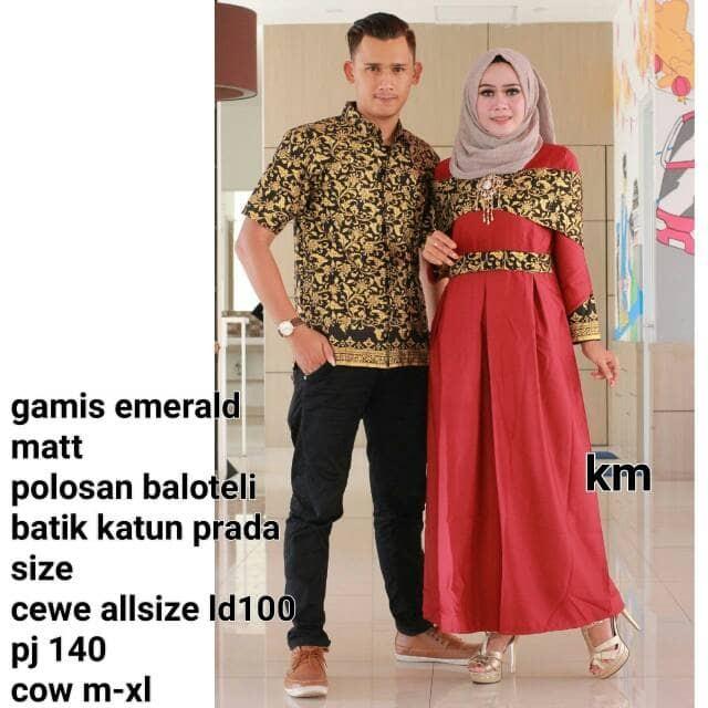 harga Batik couple panjang setelan Tokopedia.com