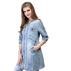 Baju Atasan Jeans Wanita Inflico 35 SPI 839