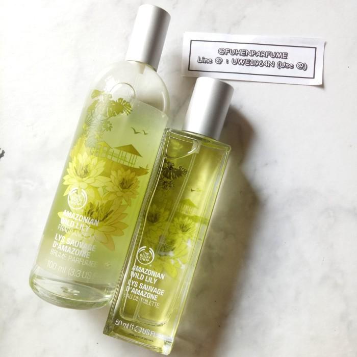 Paket Body Mist & Parfum Amazonian Wild Lily The Bodyshop Reject