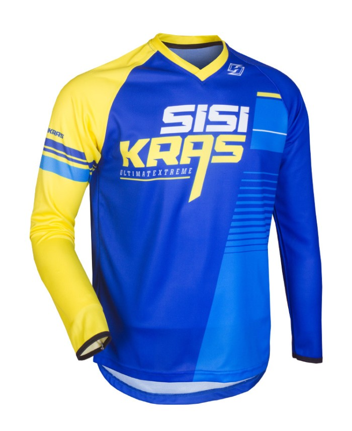 harga Jersey motocross mtb hardside ultimate blueyellow Tokopedia.com