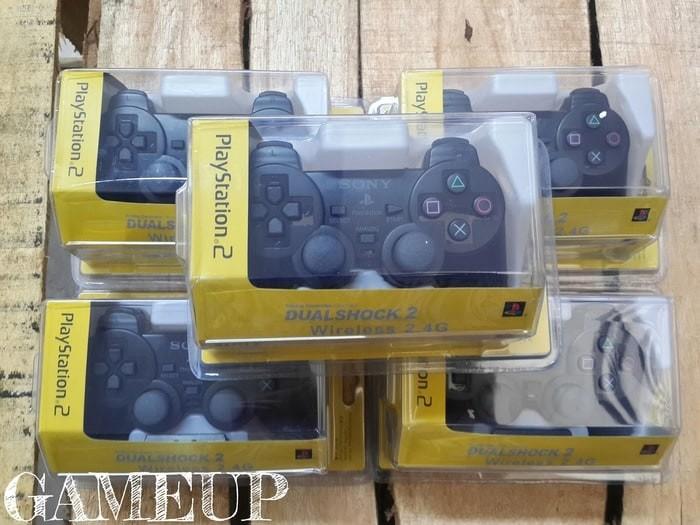 harga Gamepad joystick stick stik playstation ps 2 ps2 pc wireless ori hitam Tokopedia.com