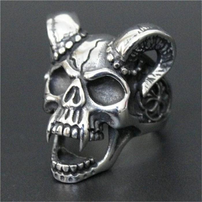 harga Diablo gothic skull ring / cincin tengkorak impor stainless steel 316l Tokopedia.com