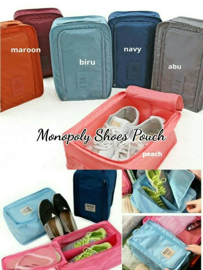 Jual tas sepatu monopoly pouch shoes organizer - riselev shop ... 238b15dd9c