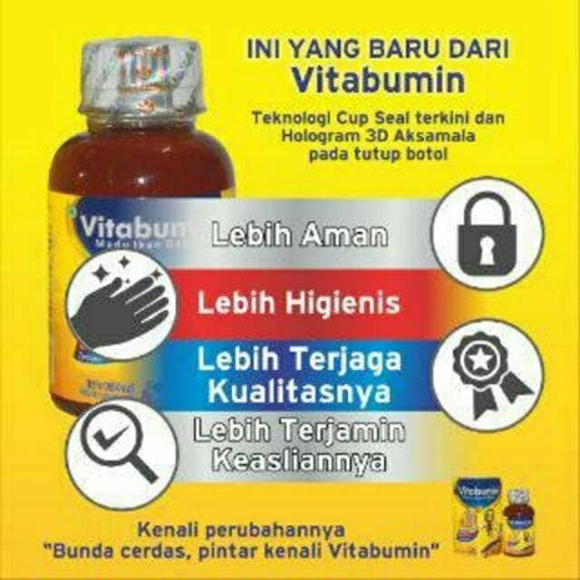 Vitabumin Madu Ikan Gabus/ Suplemen makan anak/ Vitamin Anak/ Albumin