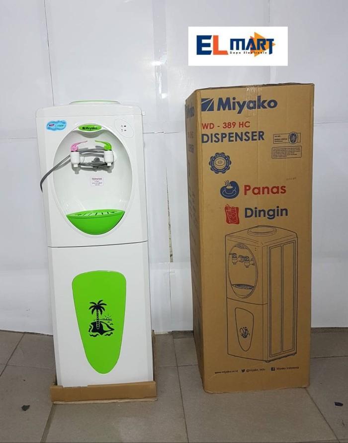 harga Miyako dispenser berdiri panas- dingin wd 389hc /hot n cool dispenser Tokopedia.com