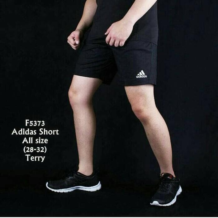 harga Celana pendek pria casual hitam gym Tokopedia.com