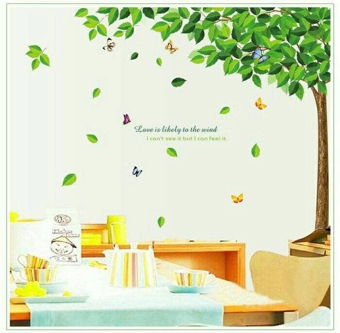 jual stiker dinding /wall sticker dapur kamar mandi anak dewasa tree
