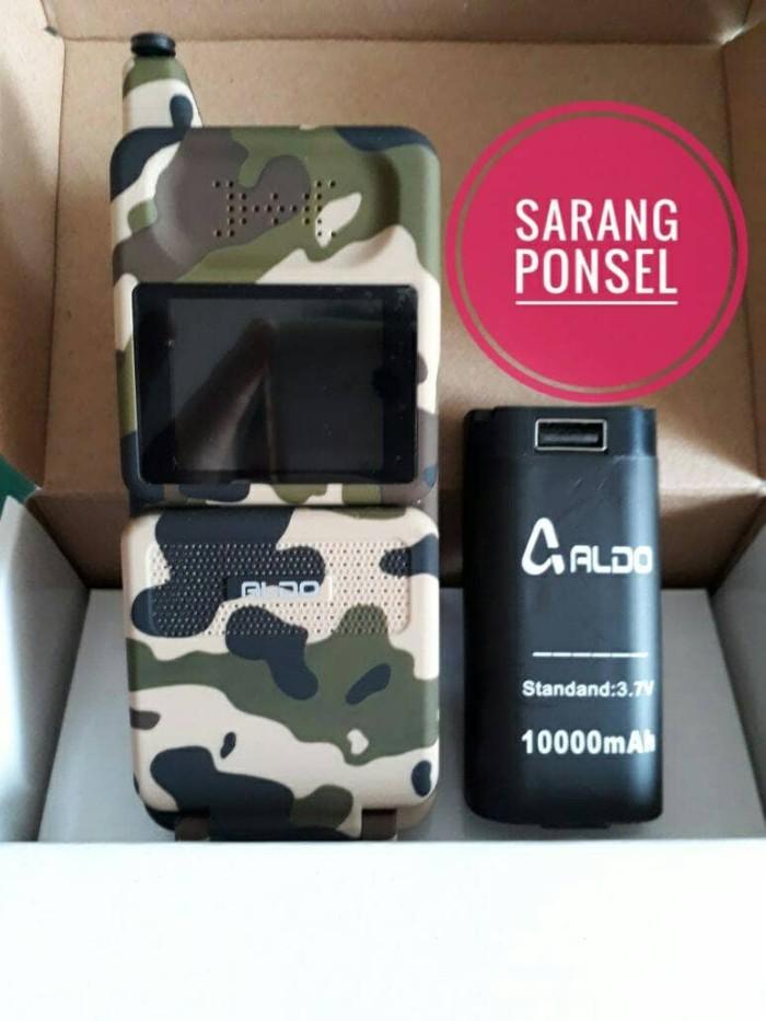 harga Aldo 16g2 army hp unik model sony jadul batre 10rb mah Tokopedia.com
