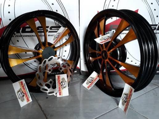 harga Velg racing lebar mio m3/mio soul gt/mio z/mio 125/fino 125 dll rossi Tokopedia.com
