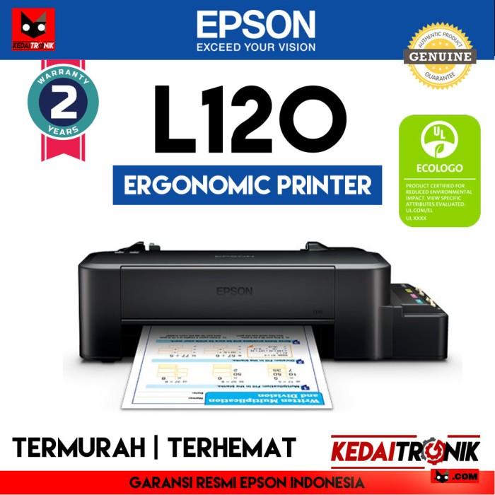 harga Printer ink jet epson l120 inkjet infus modif pabrik original l 120 Tokopedia.com