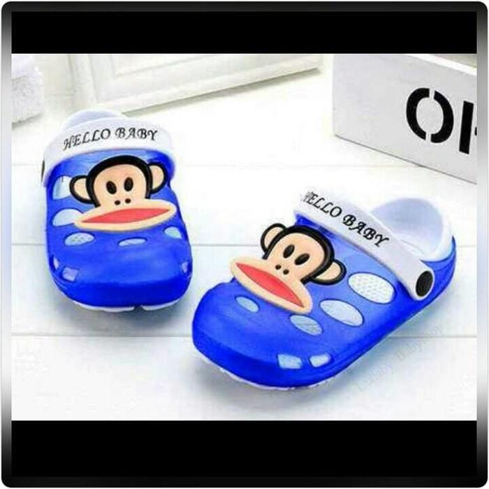 harga Sandal crocs paul frank anak kids balita toddler Tokopedia.com
