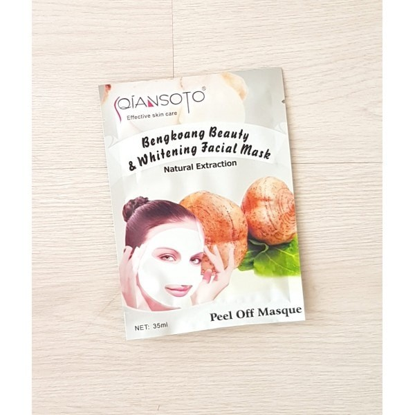 Masker Wajah Peel Off Mask Qiansoto Olive Oil Isi 6 Info Update Source .