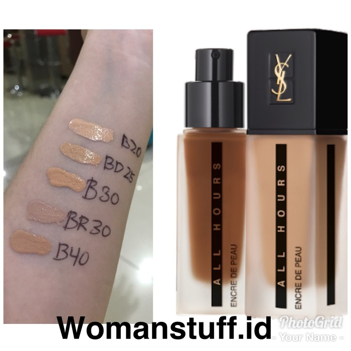 be89c3bf1f3bf Jual ysl all hours full coverage matte foundation - DKI Jakarta ...