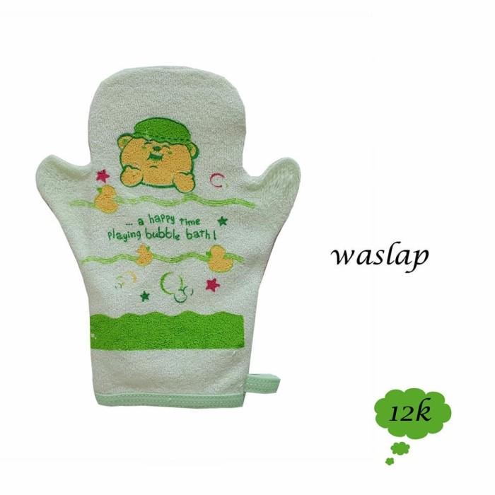 Waslap Bayi Kiddy Jari - Baby Bear Sablon