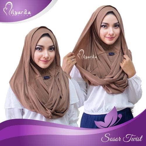 harga Kerudung / hijab instan / najwa / hodie / sosor Tokopedia.com