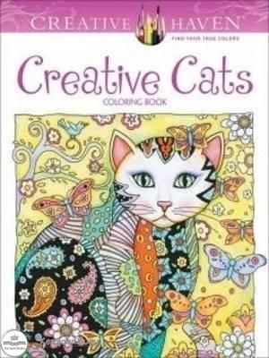 Jual Creative Haven Creative Cats Coloring Book Kota Bekasi Kerajaan Buku Tokopedia