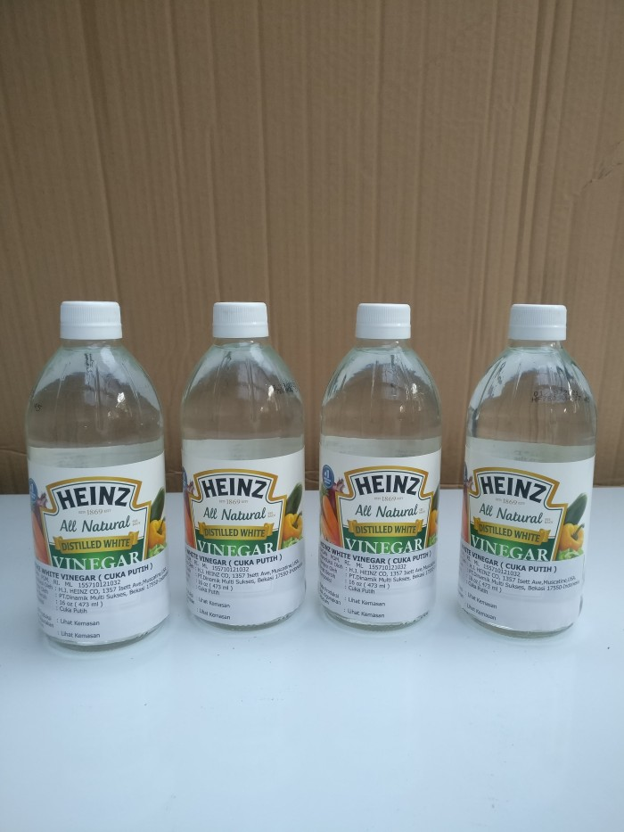 harga Distilled white vinegar / cuka putih heinz 473 ml Tokopedia.com