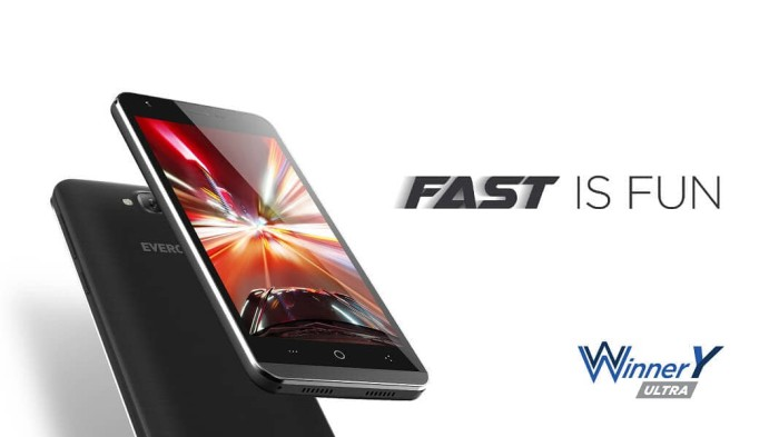 Handphone smartphone evercoss a75a / winner y ultra 2gb / 16gb ...