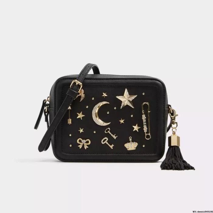 22379649df7 Jual TAS WANITA ALDO BLACK YOISA STAR BAG ORIGINAL - E Shopping ...