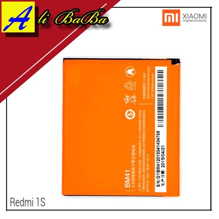 harga Baterai handphone xiaomi redmi 1 1s bm41 batre hp battery xiaomi Tokopedia.com