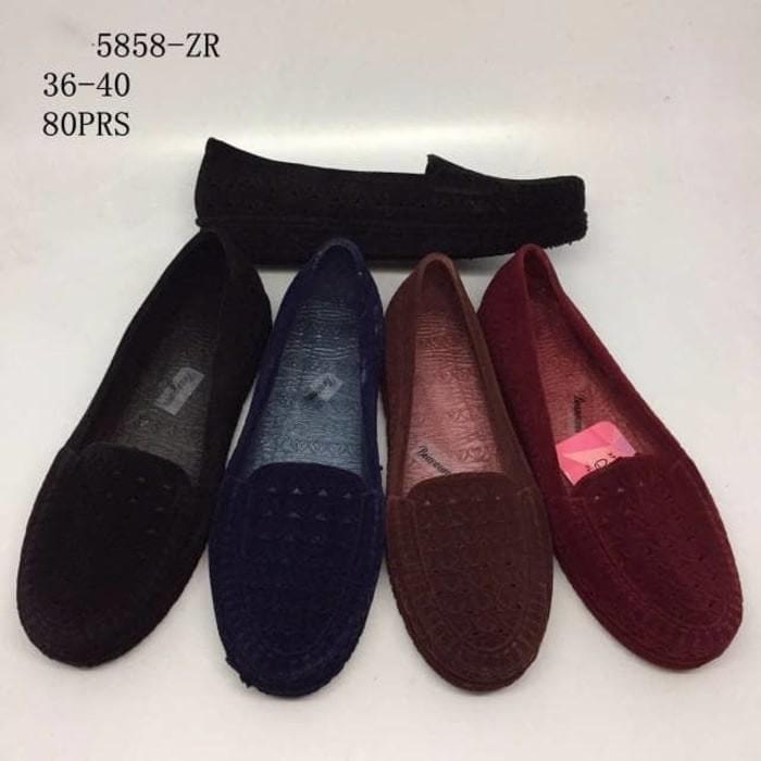 harga Jelly shoes / sepatu beludru formal kantoran Tokopedia.com
