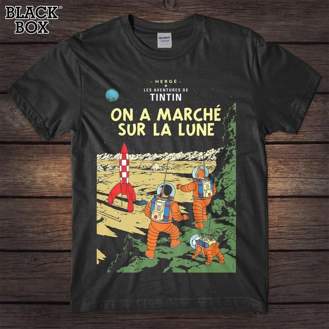 harga Tintin - on a marche gildan tshirt Tokopedia.com