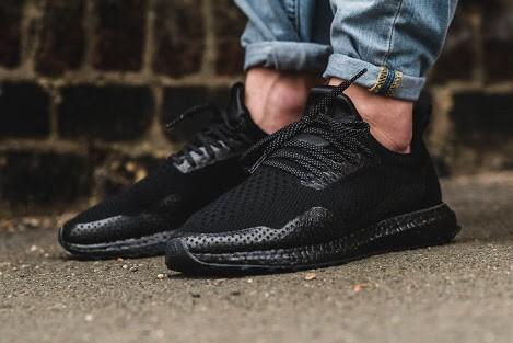 92e3e1dab Jual Adidas Ultra Boost Uncaged Triple Black X HAVEN Sepatu Pria ...