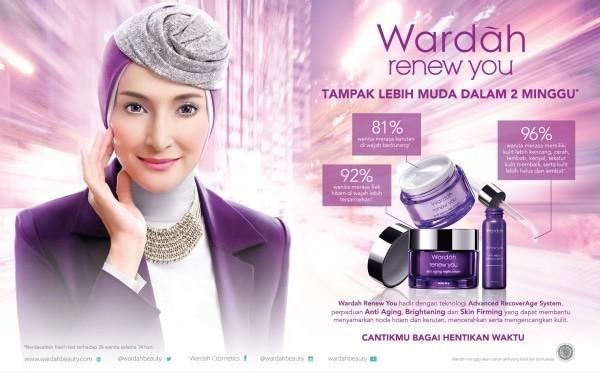 Info Wardah Renew You Day Cream 17ml Travelbon.com