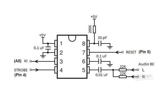 Jual harga grosir Graphic Equalizer IC MIXED DIP-8 MSGEQ7 Arduino - Elsa  Industri | Tokopedia