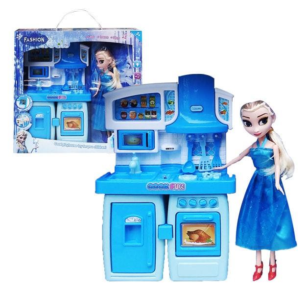 Jual Boneka Barbie Happy Kietchen Frozen Sy 2030 Jakarta Utara Sekar Kirana Shoop Tokopedia