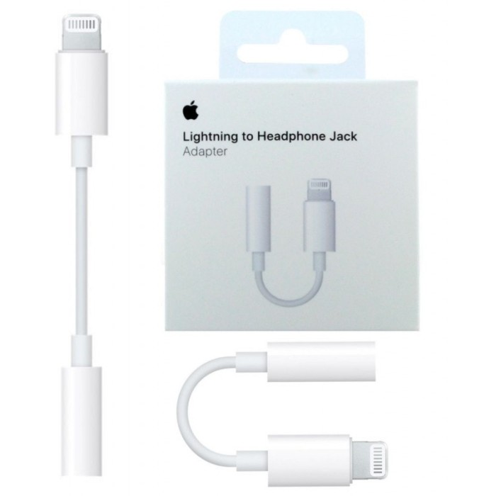 timeless design 9059f 46a4c Jual Kabel Aux Iphone 7 - Aux Adapter Iphone 8 - Kabel Audio Iphone 7 Plus  - Jakarta Barat - Navy Shops | Tokopedia