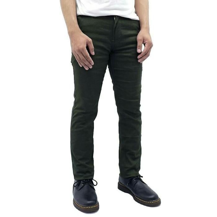 Foto Produk Celana Chino Panjang Hijau Premium | Army | Green | Kantor | Slimfit - Hijau, 33 dari Grosir Bandung