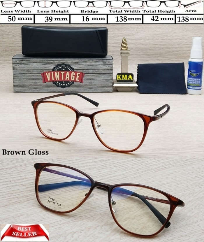 ... harga Frame minus vintage cat eye kacamata minus frame korea vintage  terbaru Tokopedia.com 262d9ad444