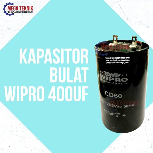 harga Kapasitor / Capasitor Bulat Electro Motor Listrik Dinamo Wipro 400uf Tokopedia.com