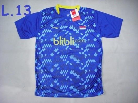 harga Baju badminton / bulutangkis li-ning l.13 blue Tokopedia.com