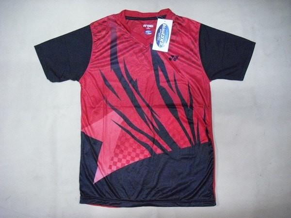 harga Baju badminton / bulutangkis yonex y.20 red black Tokopedia.com