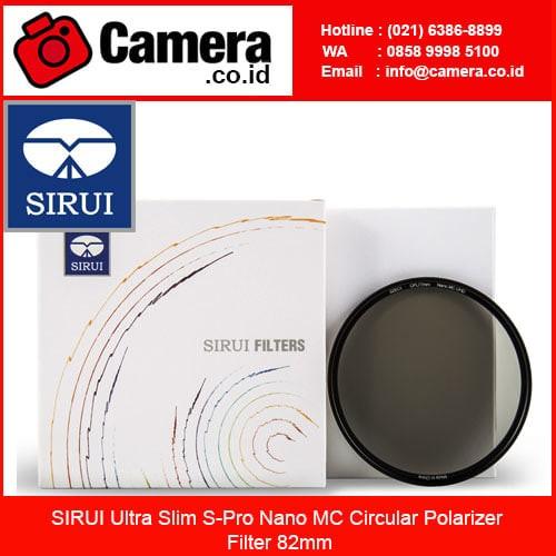 harga Sirui ultra slim s-pro nano mc circular polarizer filter 82mm /filter Tokopedia.com