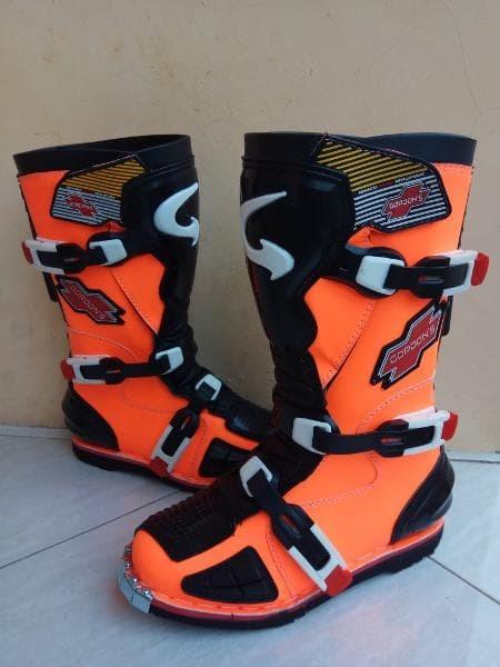 Jual sepatu cross gordon K3 orange htm murah berkualitas ... fc206fed6c