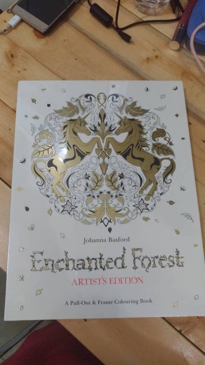 Enchanted Forest Coloring Book Artists Edition