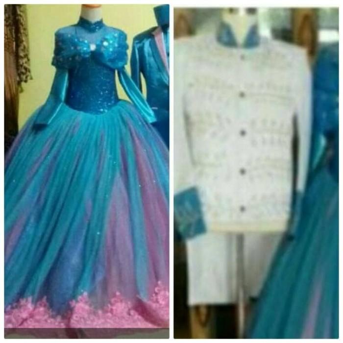 harga Request gaun couple cinderella frozen beskap pangeran Tokopedia.com