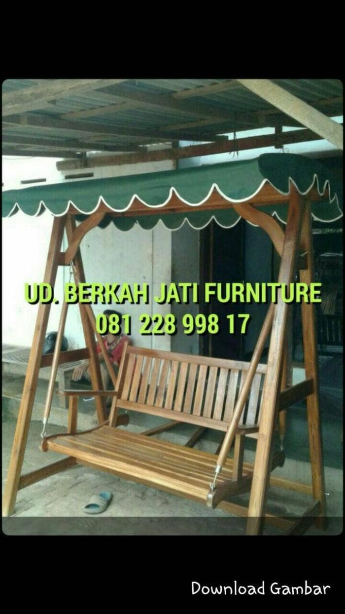 Jual Ayunan Bandulan Kayu Jati Untuk Taman Hotel Villa Teras Dll Kab Jepara UD Berkah Jati Furniture