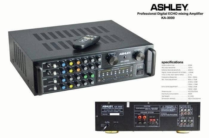 harga Amplifier mixer ashley ka 3000 (original) Tokopedia.com