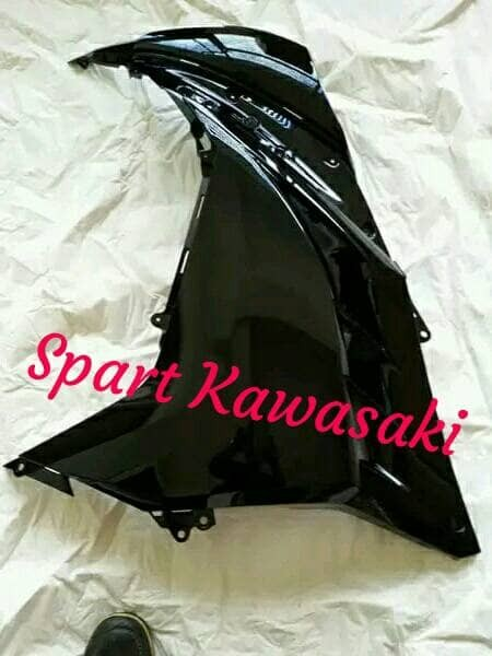 harga Fairing fering atas hitam ninja 250 fi original kawasaki Tokopedia.com