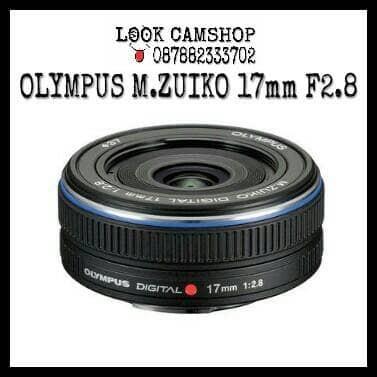 harga Lensa kamera mirrorless olympus m.zuiko m zuiko 17mm 17 f2.8 - black Tokopedia.com