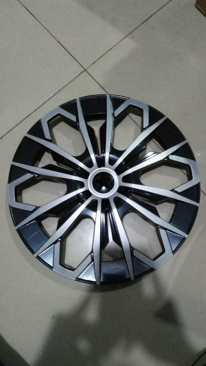 harga Dop roda 14 inch jf 1804 hitam silver-dri14jf1801 Tokopedia.com