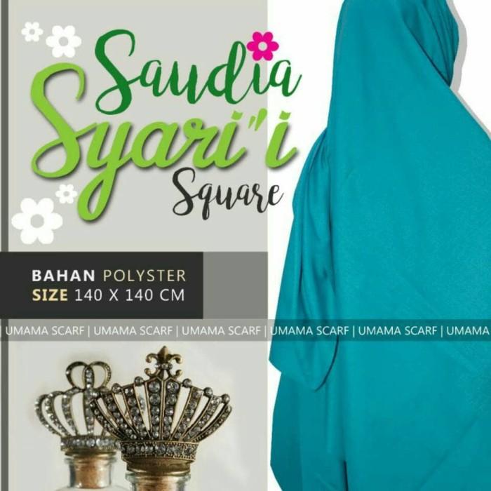 harga Hijab Jilbab Segi 4 Saudia Polos Jumbo Umama Tokopedia.com