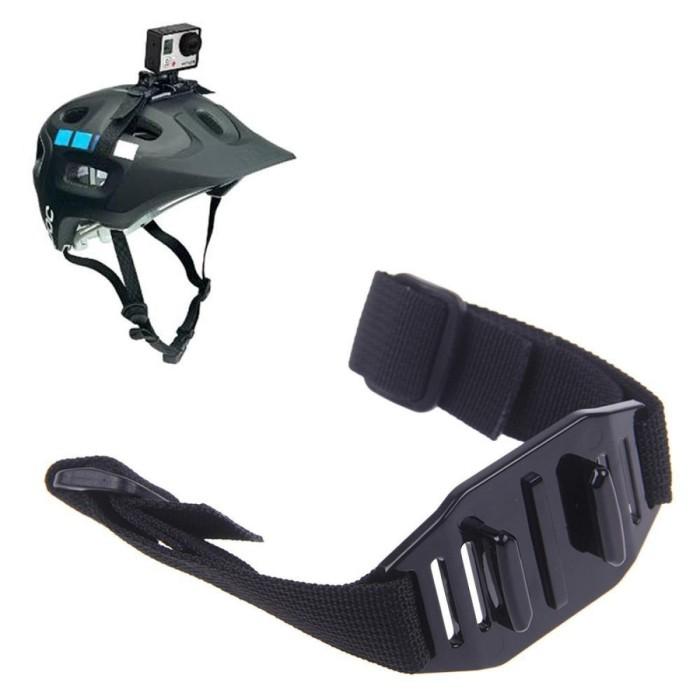 harga Helmet strap mount for xiaomi yi and gopro hero untuk ikat di helm Tokopedia.com