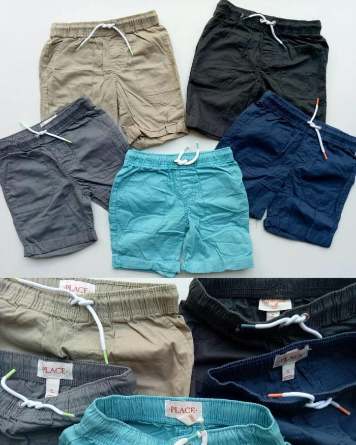 harga Toddler boys' pull-on shorts celana pendek cat & jack and place Tokopedia.com