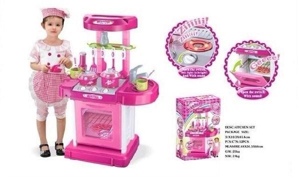 Foto Produk Mainan Kitchen Set Koper dari MainanAA18